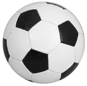 SYNTHETIC FOOTBALL BLACK/WHITE SIZE-5 (PACK OF 1)