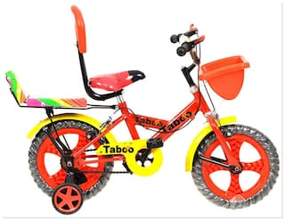 e551137fb10 Buy Taboo Double Seat Red Kid Cycle - 14T Online at Low Prices in ...