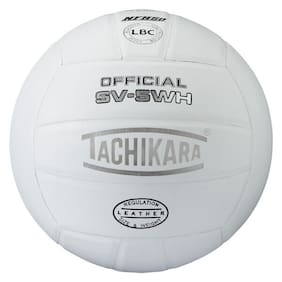 Tachikara SV5WH (NFHS) Top Grade Leather Volleyball
