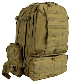 Tactical Military Advanced 3-Day Combat Modular MOLLE Backpack COYOTE DESERT TAN