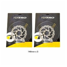 Tektro Airflow 6 Bolt Disc Brake Bike Bicycle Rotor 140/160mm Road CX Mountain