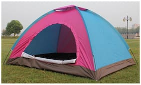 TENT ADVENTURE HIKING CAMPING TENT FOLDABLE INSTANT ADVENTURE CAMP OUTDOOR PICNIC OUTING TENT FAMILY TRIP FOLDING WATERPROOF TENT FOR 6 PERSONS
