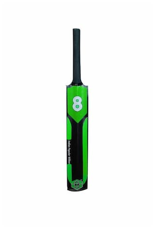 The Gre8 2020 Indian Popular Willow Cricket bat Full Size Tennis Ball Light Weight Green and Black Color with Cover