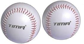 TIMA White Free Baseball ball - Set of 2