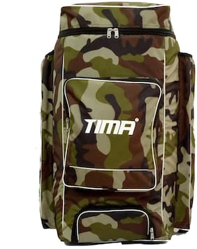 Tima Cricket Kit Bag Camo Duffle
