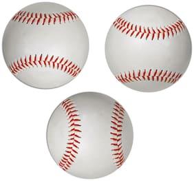 Tima Gold 2765 Baseball - Size: 9  (Pack of 3, White)
