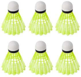 TIMA Nylon Shuttlecocks - Set of 6