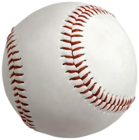 Tima PTM Baseball (Leather) Official Size (22.86 cm (9 inch))