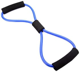 Tima PTM Resistance Band 8 Type Chest Expander Yoga Rope Workout Pulling Fitness Exercise