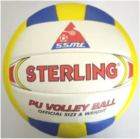 Tima Sterling Pu-7000 Pu-18P Volleyball, Size 4
