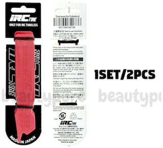 TIRE Red Lever for IRC Tubeless Tire NIB Made In Japan (1SET/2PCS)
