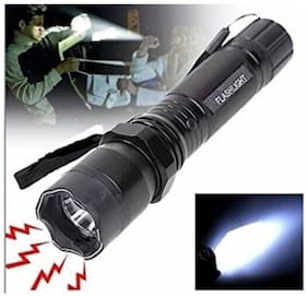TOQON Strong 1101 Flashlight Torch Rechargeable Teaser Heavy Duty Baton Stun Gun 1000kv