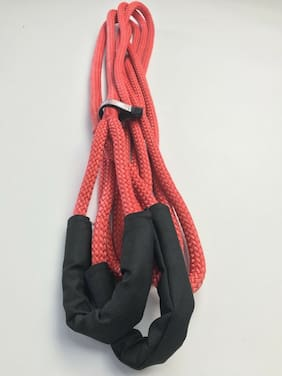 "Tow Rope 1/2""*20FT Kinetic Recovery Rope, Tow Rope, Nylon Double Braided, Zombie"
