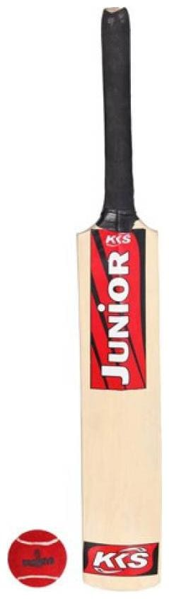 Tryviz Cricket Bat Size 3. for 7 to 8 Year Old Kids Popular Willow Cricket Bat *WITH BALL*