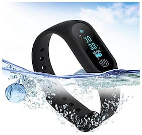 TSV  M2 Bluetooth Intelligence Health Smart Band Wrist Watch Monitor Smart Bracelet Black