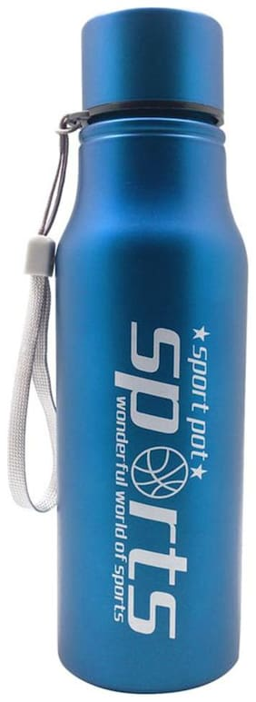 Tuelip Trendy Sporty Look For Sports,Gym,Bike Riding,Hiking,Mountain Climbing 750 ml Water Bottle - Blue