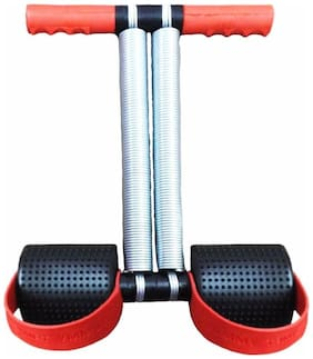 Tummy Trimmer For Stomach Exercise  (Red/Black)