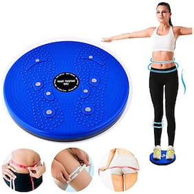 Tummy Twister Acupressure Twister (Pyramids n Magnets) Useful for Figure Tone-up, Spine Fitness, Abs Trimming/Tummy Twister for Women & Men