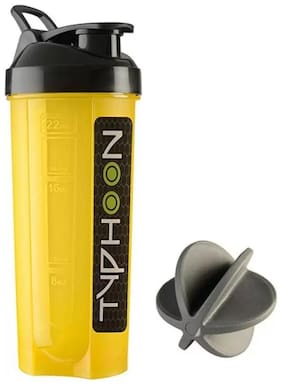Typhoon Gym Shaker Mutiolours 700 ml Shaker/Bottle (1Pc) Multicolor