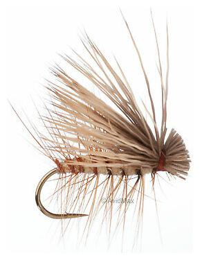 Umpqua Elk Hair Caddis Tan Dry Flies