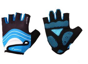 Unisex Half Finger Gloves for MTB Road Cycling Outdoor Sports(Blue/XL)