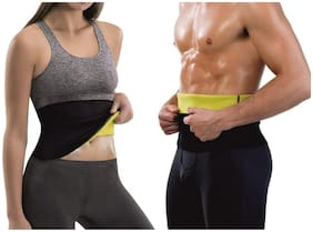 Urban Gear Premium Tummy Trimmer Slimming Belt Slim Waist Shaper for Men & Women - Universal Size