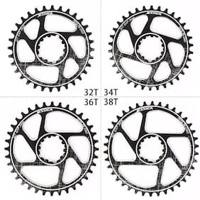 US 170 Crankset MTB Bike Crank GXP 32/34/36/38T Narrow Wide Chainring Chainwheel