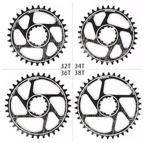 US 170 Crankset MTB Bike Crank GXP 32-38T Narrow Wide Chainring Chainwheel CNC