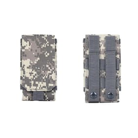 US Tactical Military Molle Phone Pouch Belt Loop Mini Case for iPhone 8 X XS XR