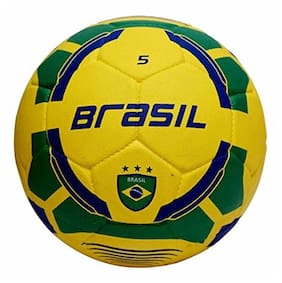 Vector X Brasil Rubber Moulded Football;Size 5
