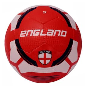 Vector X England Rubber Moulded Football-Multicolor (Size-5)