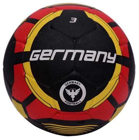 Vector X Germany Rubber Moulded Football-Multicolor (Size-3)