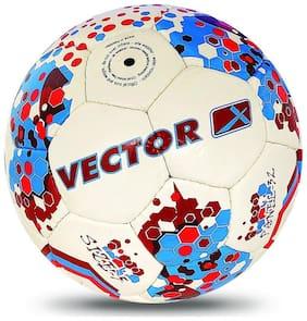 Vector X Prokick Football (White-Red-Blue)