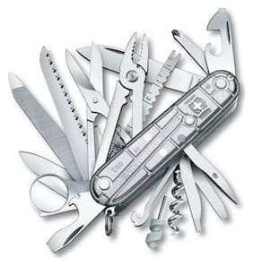 Victorinox Swiss Champ Swiss Army Knife (1.6794.T7)