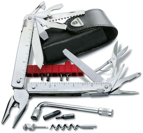 Victorinox Swiss Tool CS Plus In Leather Pouch Swiss Army Knife (3.0338.L)