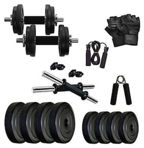VIGOURZONE Plastic Pvc Dumbbell set ( Set of 14 , 20 kg )