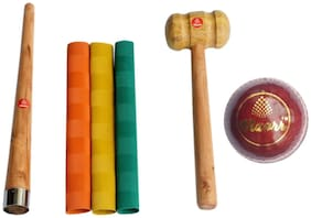Vizorr Multi Leather Cricket Bat grip & Cone grip - Set of 6