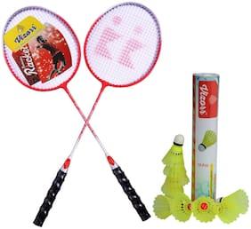 Vizorr KK1015 Badminton combo & Aerotic 006 Shuttlecock Nylon (10pcs)