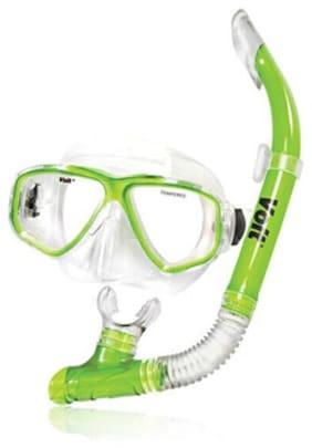 Voit Metallic Sea Mask and Snorkel Combo
