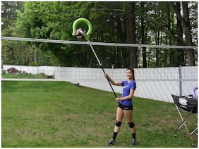 Volleyball Training Aid - SmartSpike Trainer.  ( Green ) GREAT !