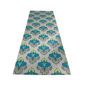 Vritraz  Printed, Extra Thick 6mm, 182.88 cm (72 inch)x60.96 cm (24 inch) Long, Premium Eco Safe, Non Slip Yoga Mat With Free Carry Bag