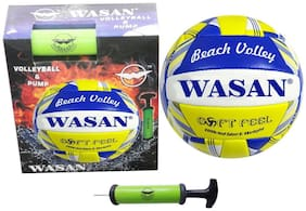Wasan 2 Piece Volleyball Size 5 Set with Pump (12 Years and Above)