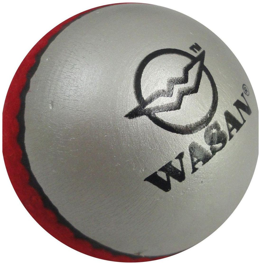 Wasan 2 Tone Tennis Cricket Ball   For All ages by Wasan Exports