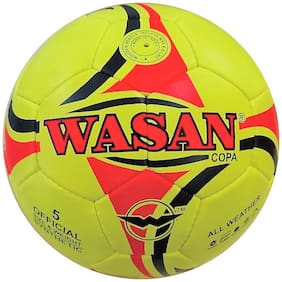 Wasan Copa Football Size 5 Neon Fluorescent with Free Pump