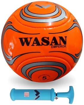 Wasan Emperor Football Size 5 with Pump-Orange