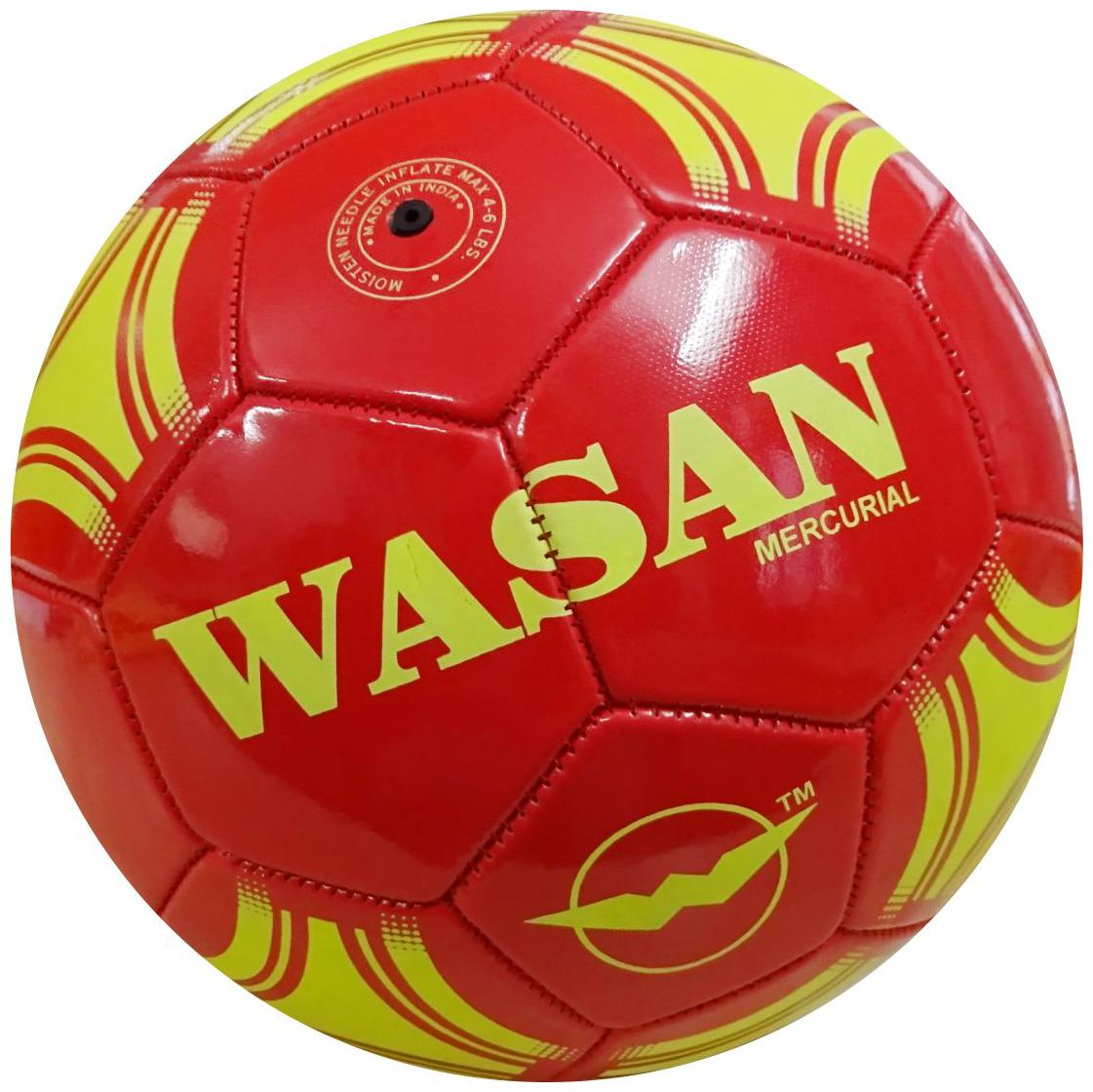 Wasan Mercurial Football Size 5   Vary in Colors/Assorted Colors