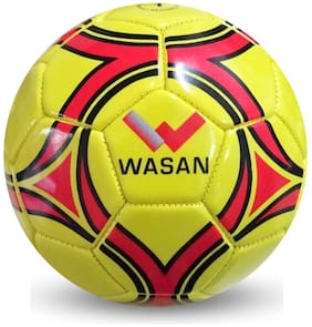 Wasan Mini Football Size 1 - Yellow (Under 5 Yrs)