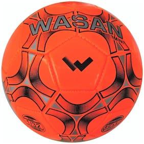 Wasan Mini Football Size 1 - Orange (under 5 years)
