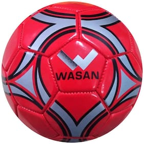Wasan Mini Football Size 1 - Red (Under 5 Yrs)