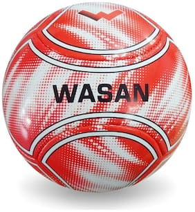 Wasan Monarch Football Size 5 -Red
